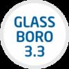 Vidrio Boro 3.3