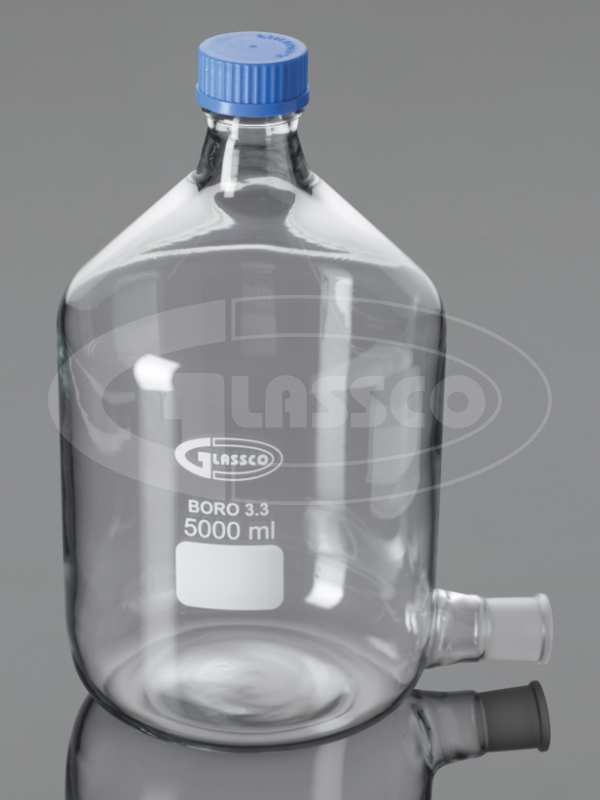 Bottle, Aspirator, with GL 45 Cap with socket New