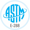 ASTM E-288 Certified