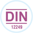 Complies with DIN 12249