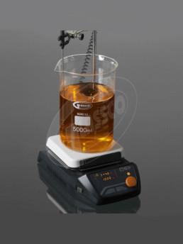 Magnetic Stirrer with digital hotplate, glass ceramic top