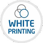 white printing